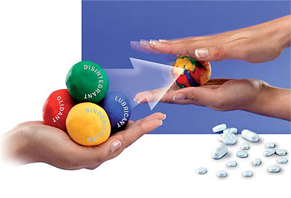 excipients used in tablet formulation pdf